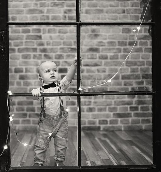 Студийная фотография • Урок №8. Детская новогодняя фотосессия - Фотошкола