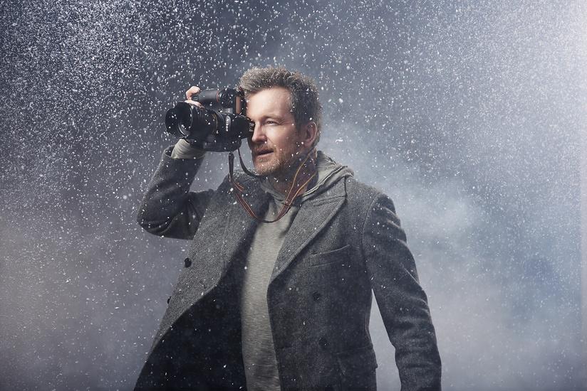 Студийная фотография • Урок №6. Как снимать снег в студии - Фотошкола