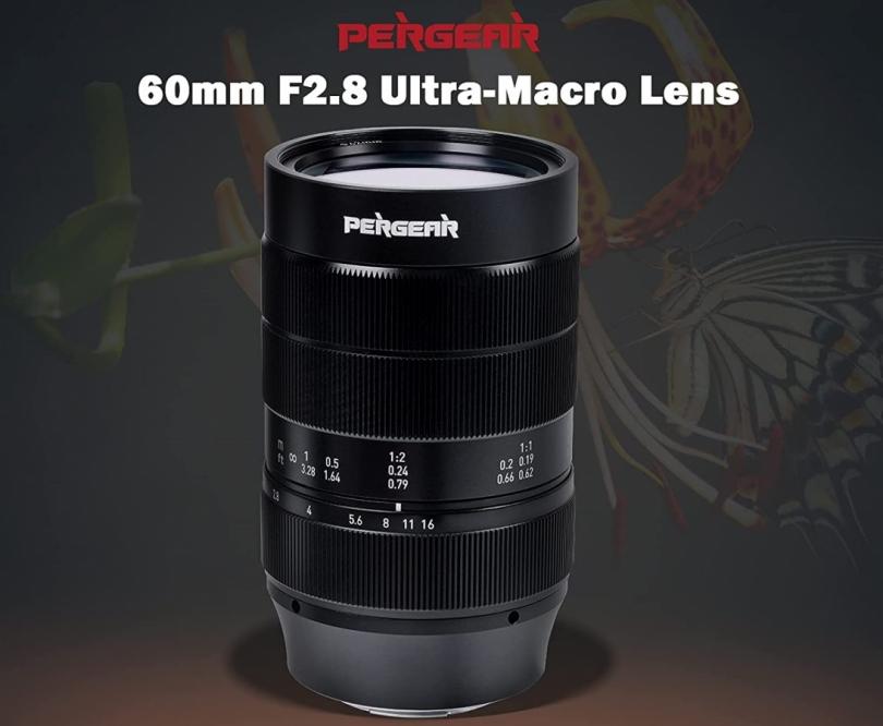 PERGEAR представила 60mm F2.8 Ultra-Macro