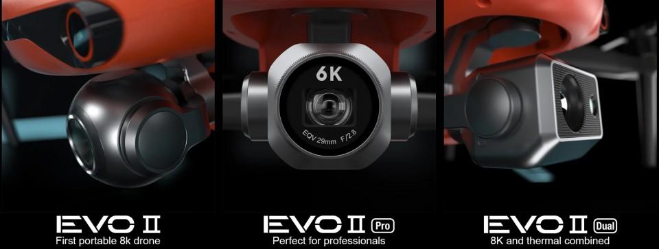 Первый в мире складной дрон Autel EVO II с поддержкой записи 8K ...
