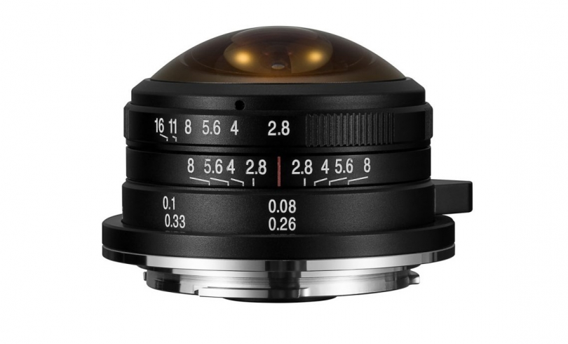 Laowa 4mm f/2.8 Fisheye - теперь и для Sony E, Fuji X и Canon EF-M