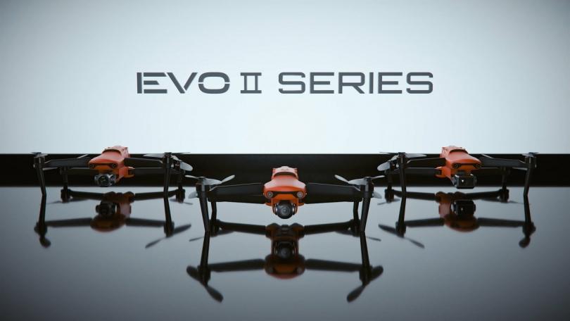 Первый в мире складной дрон Autel EVO II с поддержкой записи 8K-видео