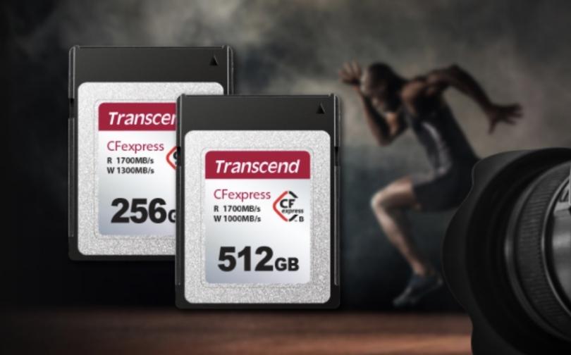 Transcend анонсировала новые карты CFexpress Type B