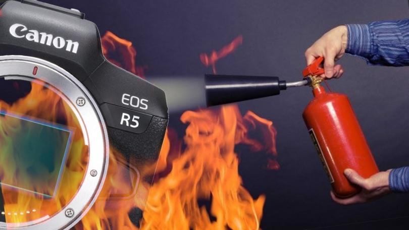 Canon ответила на слухи о задержках поставок EOS R5 из-за перегрева