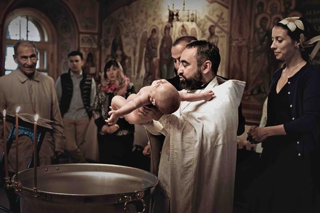 Как снимать таинство крещения - Фотожурнал