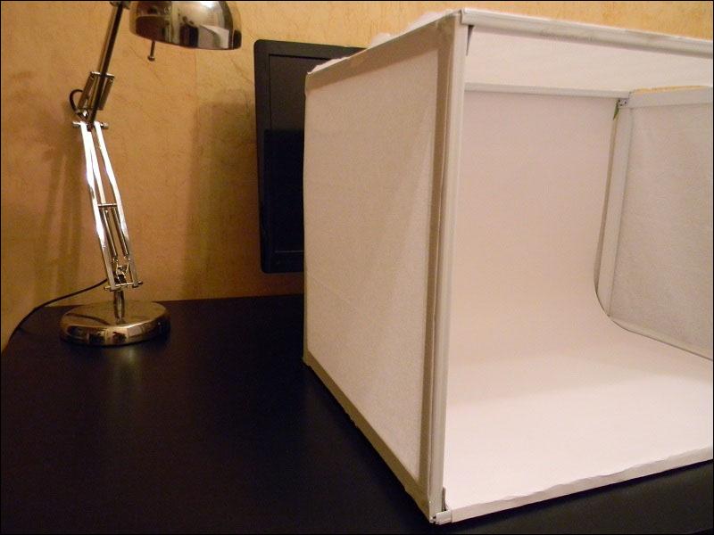 как сделать короб для предметной фотосъемки камень тонкий срез