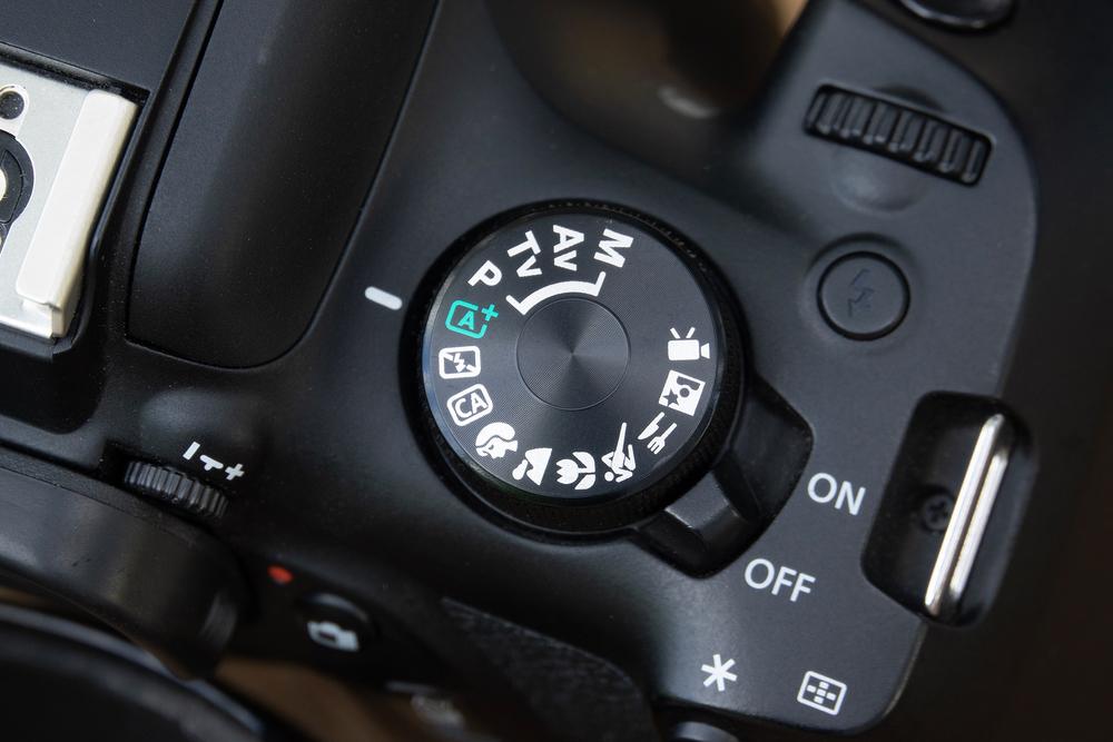 настройка режима а для фотоаппарата